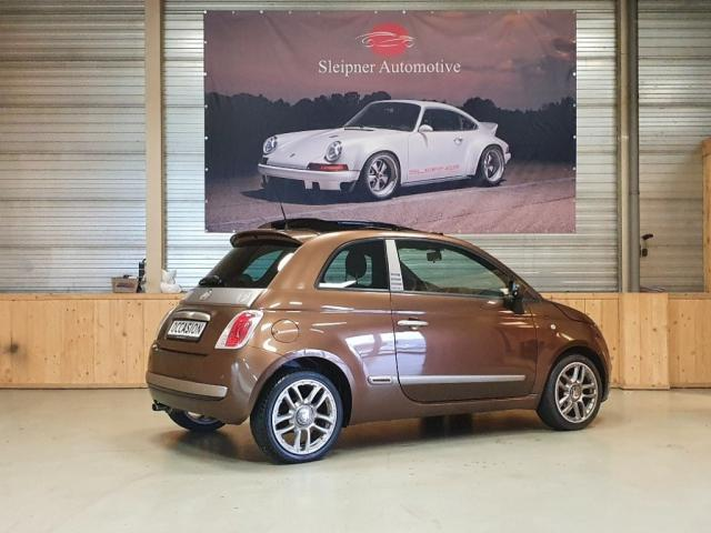 Fiat 500 1.2 LOUNGE BY Diesel Airco Panorama dak